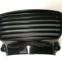 Lambretta GP front horn grill black plastic