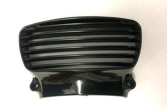 Lambretta GP front horn grill black plastic image #1