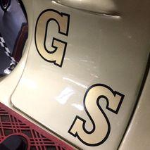 Vespa GS Decorette stickers 65mm