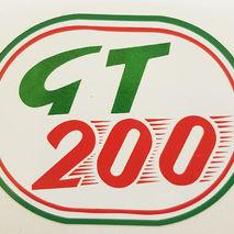 Lambretta GT200 self adhesive sticker