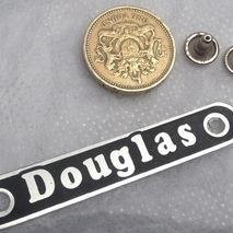 Vespa Douglas Rear Seat Badge