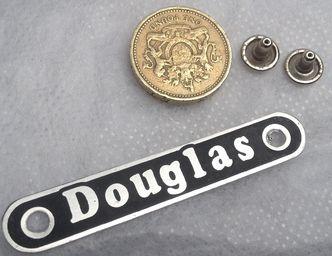 Vespa Douglas Rear Seat Badge  image #1