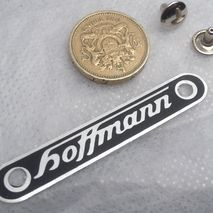 vespa HOFFMANN seat badge