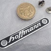vespa HOFFMANN seat badge
