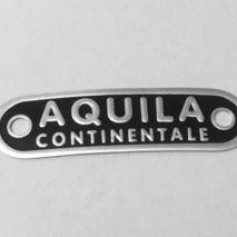 Vespa AQUILA CONTINENTALE seat badge GS150 /GS160