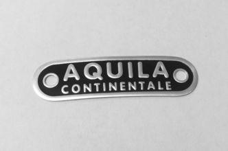 Vespa AQUILA CONTINENTALE seat badge GS150 /GS160 image #1
