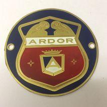 ARDOR 54mm shield badge