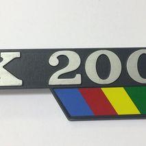 Vespa PX200E side panel badge