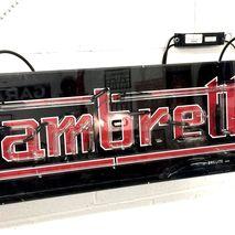 Lambretta Neon display box BRILLITE