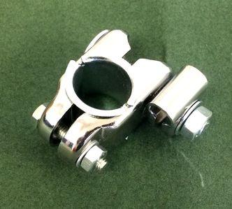 Crash bar stem mounting clamp image #1
