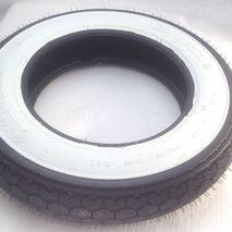 Continental 3.50 x 10 K62WW white wall tyre