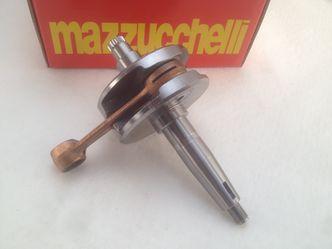 Lambretta Standard 58mm x 107mm GP200 crankshaft image #1