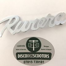 "Lambretta ""RIVIERA"" LD 150 badge"