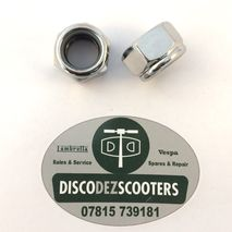 Lambretta engine bar nuts  polished stainless