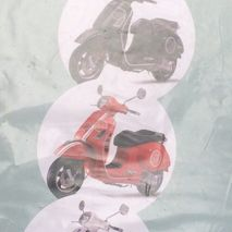 Vespa GTS 300 RED decal set