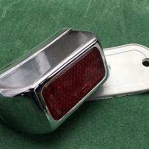 chrome plated rear light