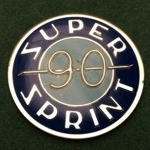 vespa SS90 dummy tank badge