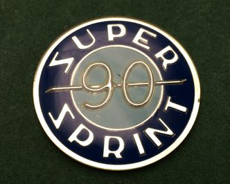 vespa SS90 dummy tank badge image #1