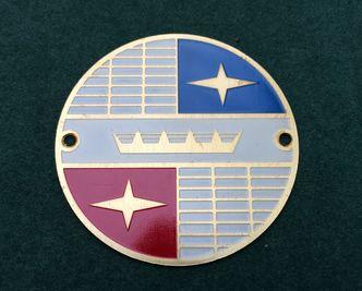VIGANO crowns badge 54mm image #1