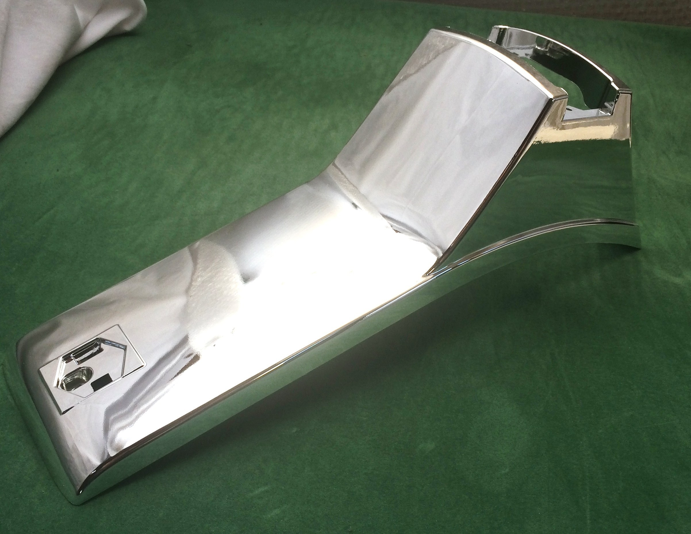 Vespa Px My2000 Disc Chrome Horn Cover Disco Dez Scooters