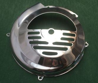 Vespa chrome flywheel cover V50/V90/ET3 image #1
