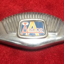 ARDOR windshield centre emblem NOS 1950's