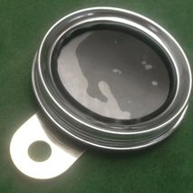 Stainless tax disc holder