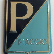 Vespa PIAGGIO plastic horn cover badge GS / SS180