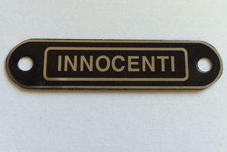 lambretta INNOCENTI seat badge image #1