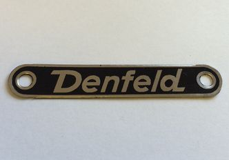 Vespa DENFELD seat badge image #1
