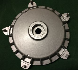 Vespa PX Disc EFL rear hub 30mm image #1