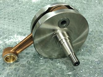 Vespa GS150 crankshaft. Made in Italy image #1