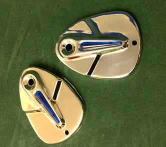 Lambretta LD/D fork covers blue image #1