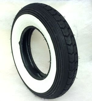 Continental 3.50 x 8 whitewall tyre image #1