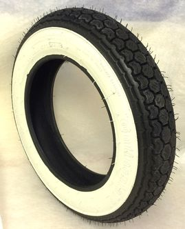 Continental 3.00 x 10 whitewall tyre image #1
