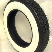 Continental 3.00 x 10 whitewall tyre