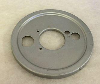 Vespa SS180/GS160 front hub backplate image #1