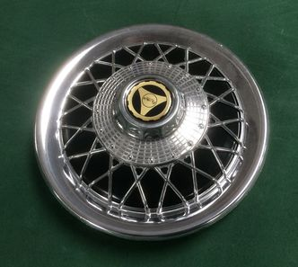 Vespa 10 inch spoked wheel trim BLACK PX/Sprint/Primavera image #1