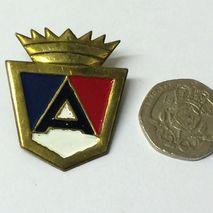 ARDOR shield badge 3mm stud fixing