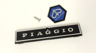 Vespa PX Mk1 horn cover badges image #1