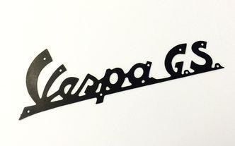 Vespa GS150 legshield badge image #1