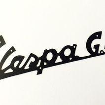 Vespa GS150 legshield badge