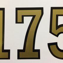 """Lambretta 175 """"Decorette"""" symbol 90mm 3 1/2 inch"""