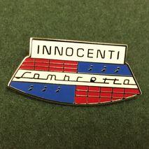 Innocenti Lambretta enamel lapel pin badge