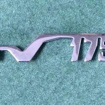 Legshield badge TV 175