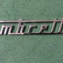 Legshield badge Lambretta SX 125 LI
