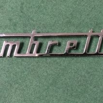 Lambretta scooter badges and trims