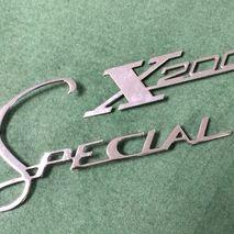 Legshield badges Lambretta Special X200