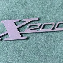 Legshield badge Lambretta X200