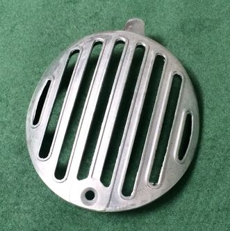 Lambretta horn grill cover Series 2 early round  image #1
